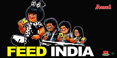 Amul's Take on Lead India Contest
