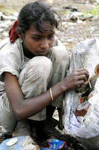 Girl Ragpicker