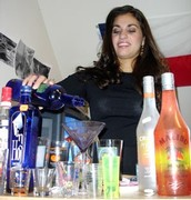 Female Bartender