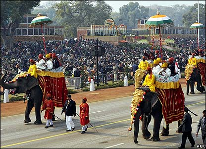 Republic day 2008