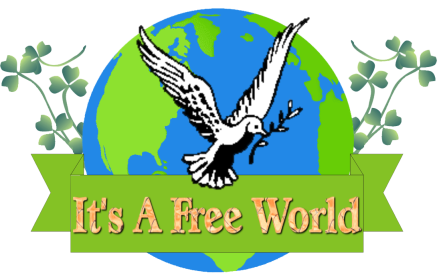Its A Free World Logo