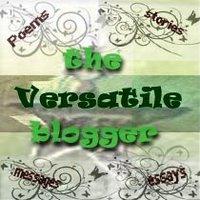 Versatile Blogger Award from Nimmy